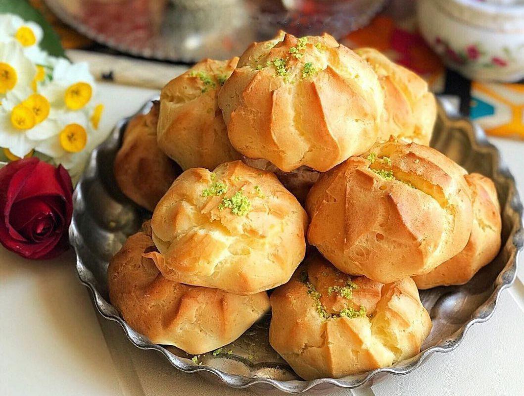 طرز تهیه نان خامه ای - درکام