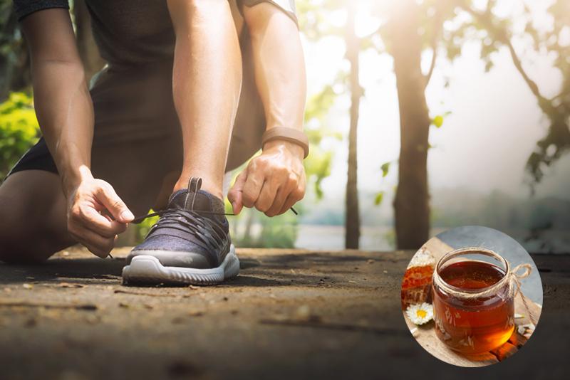 عسل برای ورزشکاران